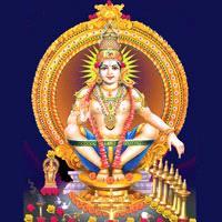 Ayappa-Spiritual Wall Clock-Shetra