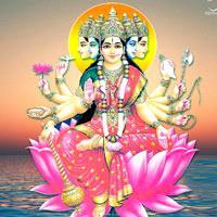 Gayatri Mantra-Spiritual Wall Clock-Shetra