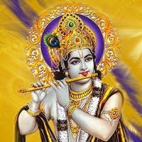 Krishna-Spiritual Wall Clock-Shetra